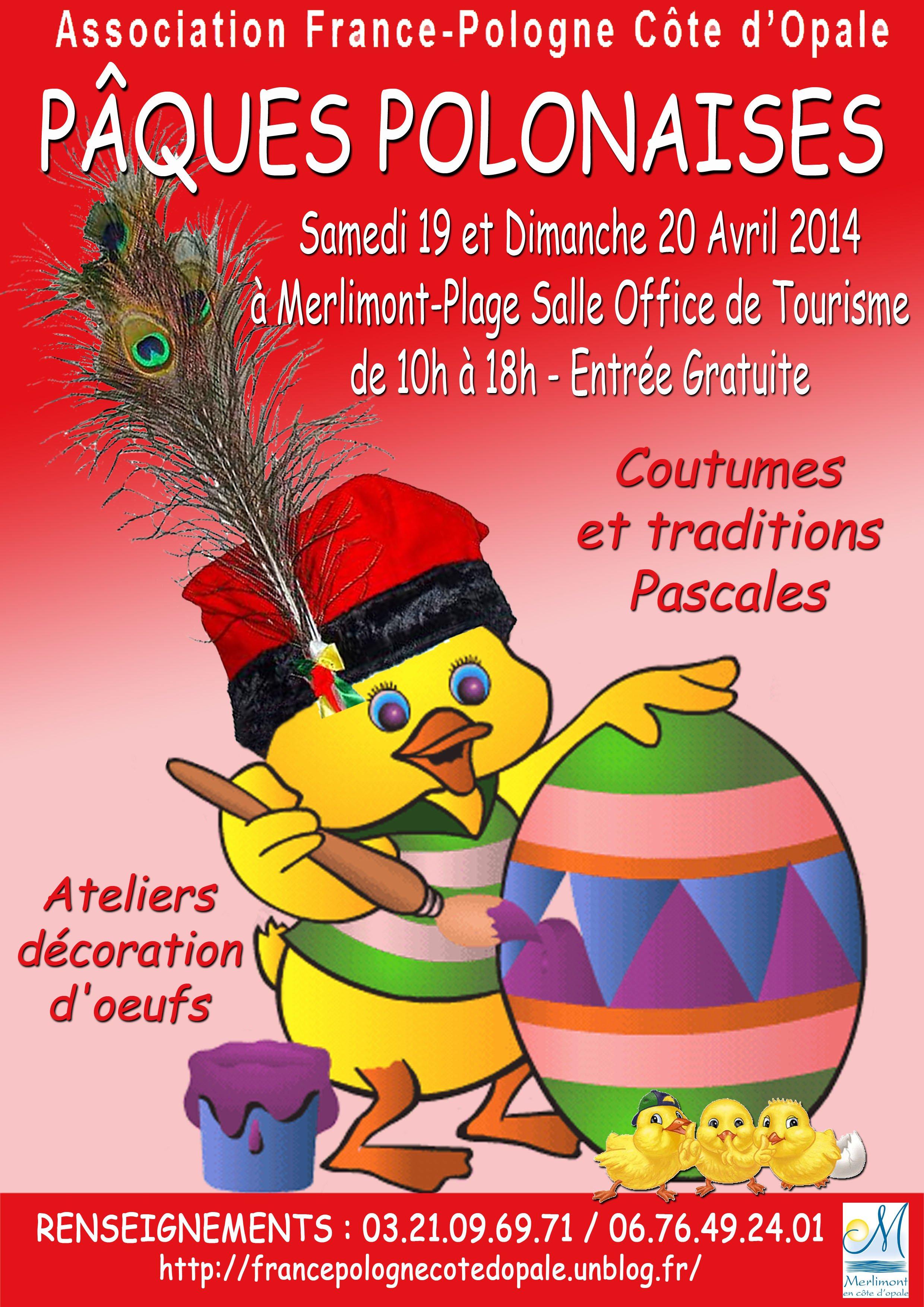 Association france pologne c te d opale p ques wielkanoc - Office tourisme merlimont ...